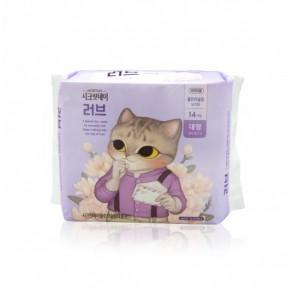 Ультратонкие корейские гигиенические прокладки Secretday Sense Large