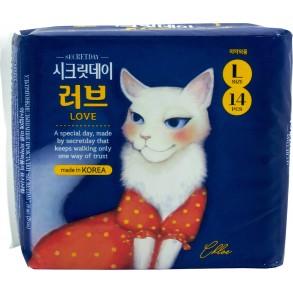 Прокладки гигиенические ультратонкие Secretday size L
