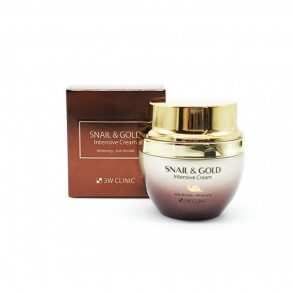 3W Clinic Gold & Snail Intensive Care Cream