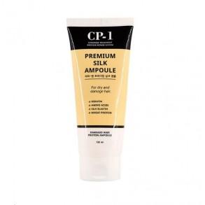 Сыворотка для волос с протеинами шелка для сухих и поврежденных волос Esthetic House CP-1 Premium Silk Ampoule
