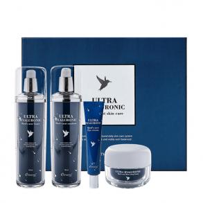 Набор для ухода за лицом с экстрактом ласточкиного гнезда и гиалуроновой кислотой Esthetic House Ultra Hyaluronic Bird's Nest Skin Care Set