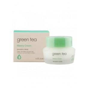 Увлажняющий крем для лица с экстрактом зелёного чая It's Skin Green Tea Watery Cream