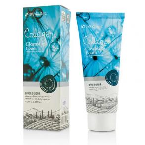 Очищающая коллагеновая пенка для умывания лица 3W Clinic Collagen Foam Cleansing