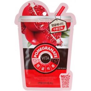 "Маска для лица ""Гранат"" Mediheal Pomegranate Vita Mask"