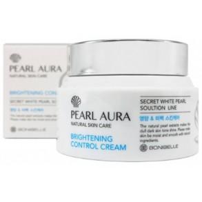 Осветляющий крем для лица с экстрактом жемчуга Enough Bonibelle Pearl Aura Brightening Control Cream