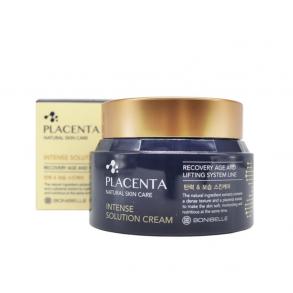 Омолаживающий крем для лица с плацентой Enough Bonibelle Placenta Intense Solution Cream
