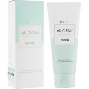 Очищающая пенка для лица Heimish All Clean Green Foam pH 5.5 150 ml
