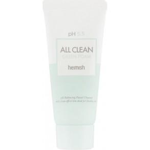 Очищающая пенка для лица Heimish All Clean Green Foam pH 5.5 30 ml