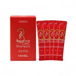 Укрепляющий шампунь против выпадения волос с аминокислотным комплексом Masil 3 Salon Hair CMC Shampoo 8ml