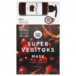 Wonder Bath Super Vegitoks Mask Pack-Red