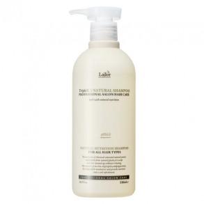 Бессульфатный органический шампунь La'dor Triplex Natural Shampoo 500ml