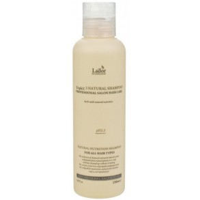 Бессульфатный органический шампунь La'dor Triplex3 Natural Shampoo