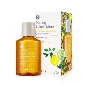 Многофункциональная витаминная сплеш-маска Blithe Energy Yellow Citrus and Honey Patting Splash Mask