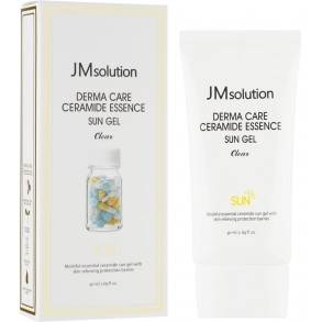 Солнцезащитный гель-эссенция Jm Solution Derma Care Ceramide Essence Sun Gel SPF50+PA+++