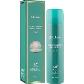 Солнцезащитный спрей для лица JMsolution Marine Luminous Pearl Sun Spray Pearl SPF50+ PA++++