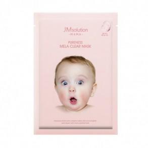 Маска для ровного цвета лица и упругой кожи JM Solution Mama Pureness Mela Clear Mask