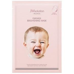 Гипоаллергенная осветляющая тканевая маска для лица JM Solution Mama Pureness Brightening Mask