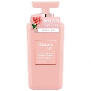 Кондиционер для объёма волос с экстрактом розы JMSolution Glow Luminous Perfume V Treatment