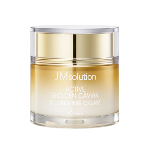 Крем для лица с экстрактом икры и золота JMsolution Active Golden Caviar Nourishing Cream