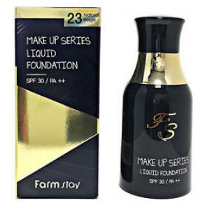 Тональная основа с цветочным экстрактом FarmStay Make-Up Series Liquid Foundation №23
