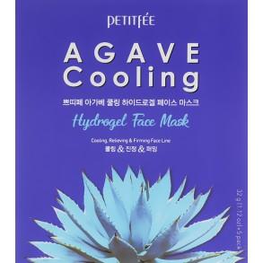 Гидрогелиевая охлаждающая маска для лица с экстрактом агавы Petitfee&Koelf Agave Cooling Hydrogel Face Mask