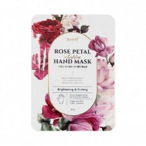Koelf Rose Petal Satin Hand Mask