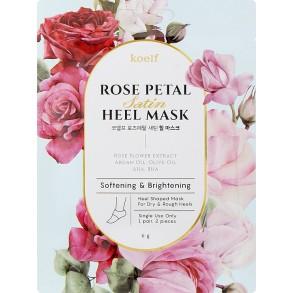 Petitfee&Koelf Rose Petal Satin Heel Mask