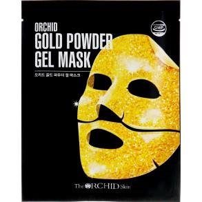 Гидрогелевая маска с золотым порошком The Orchid Skin Gold Powder Gel Mask