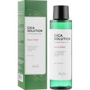 Увлажняющий и успокаивающий тонер для лица Gaston Cica Solution Relax Toner