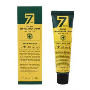 Крем для проблемной кожи лица с центеллой May Island 7 Days Secret Centella Cica Cream