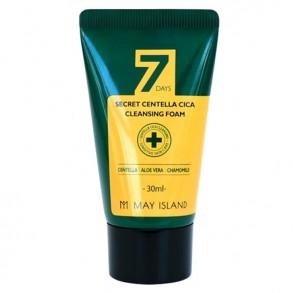Очищающая пенка для проблемной кожи лица с экстрактом центеллы May Island 7 Days Secret Centella Cica Cleansing Foam