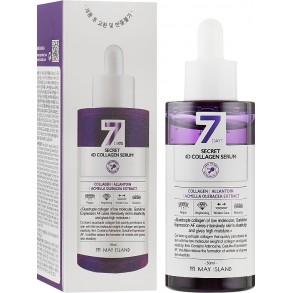Антивозрастная сыворотка для лица с коллагеном May Island 7 Days Secret 4D Collagen Serum