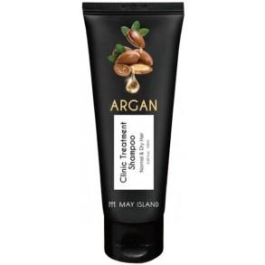 Восстанавливающий шампунь для волос с аргановым маслом May Island Argan Clinic Treatment Shampoo