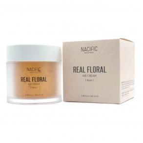 Лёгкий гель-крем с лепестками розы Nacific Real Rose Floral Air Cream