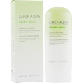 Пилинг-гель для чувствительной кожи Missha Super Aqua Mild Peeling Gel
