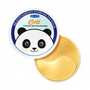 Гидрогелевые патчи с экстрактом золота Milatte Fashiony Gold Hydrogel Eye Patch
