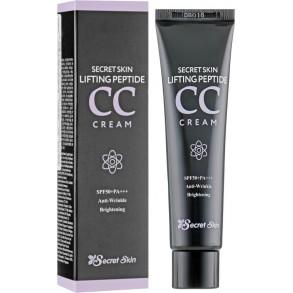 Пептидный СС крем с лифтинг-эффектом Secret Skin Lifting Peptide CC Cream SPF50+