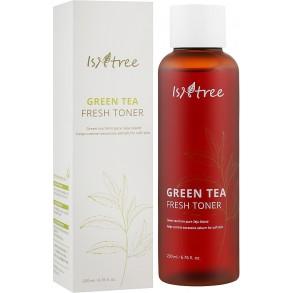 Освежающий тонер с экстрактом зелёного чая IsNtree Green Tea Fresh Toner