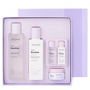 Набор для лица для жирной, нормальной и сухой кожи It's Skin Glow Routine Special Set