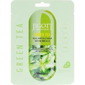 Jigott Green Tea Real Ampoule Mask