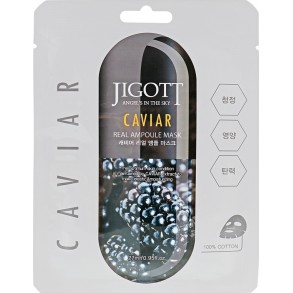 Jigott Caviar Real Ampoule Mask
