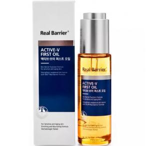Капсульное масло с лифтинг-эффектом Real Barrier Active-V First Oil