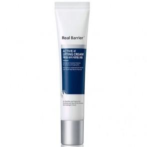 Восстанавливающий крем для век и лица с лифтинг-эффектом Real Barrier Active-V Lifting Cream Cream