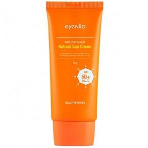 Солнцезащитный крем для лица с экстрактом одуванчика Eyenlip Pure Perfection Natural Sun Cream