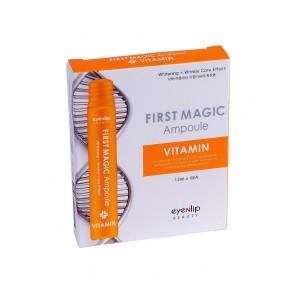 Антивозрастная сыворотка в ампулах с витаминами Eyenlip First Magic Ampoule Vitamin