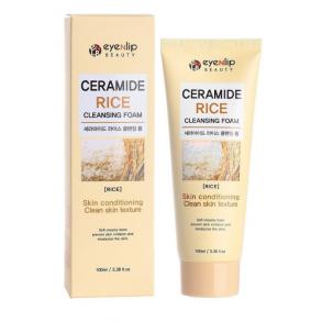 Кремовая пенка для умывания с керамидами и экстрактом риса Eyenlip Ceramide Rice Cleansing Foam