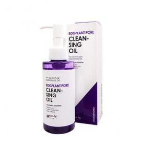 Гидрофильное масло с экстрактом баклажана Eyenlip Eggplant Pore Cleansing Oil