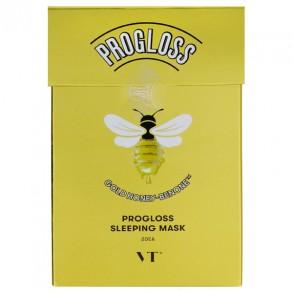 Питательная ночная маска с экстрактом меда и золота VT Cosmetics Progloss Sleeping Mask 20pcs