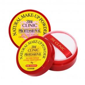 3W Clinic Natural Make-Up Powder Light Beige №21