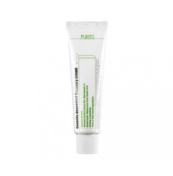Крем с центеллой для чувствительной кожи Purito Centella Unscented Recovery Cream